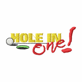 Hole In One Embroidered Polo Shirt