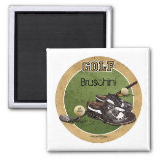Hole in One - Golf 2 Inch Square Magnet