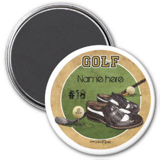 Hole in One - Golf 3 Inch Round Magnet
