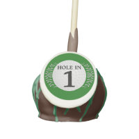 Hole In One Golf Ball Cake Pops