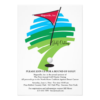 Hole In One Golf Invitation