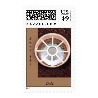 Hole in One Postage Stamp