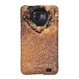 Hole in rust Samsung Galaxy S II case Samsung Galaxy SII Covers