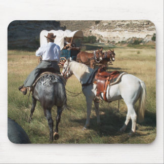 Hole-in-the-Wall camp, Wyoming Mouse Pad