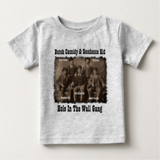 Hole In The Wall Gang Butch Cassidy & Sundance Kid Baby T-Shirt