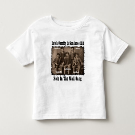 Hole In The Wall Gang Butch Cassidy & Sundance Kid Toddler T-shirt