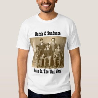 Hole In The Wall Gang Butch Cassidy & Sundance Kid Tshirts