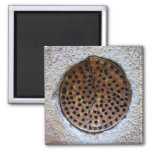 Hole in the wall kitchen magnet