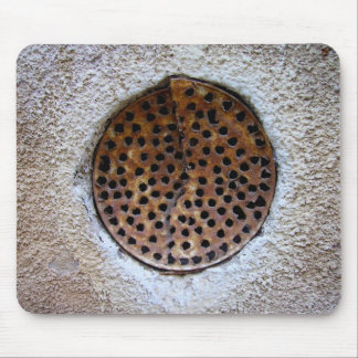 Hole in the wall mouse pad