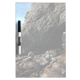Hole-in-The-Wall Olympic National Park Frosted Dry-Erase Board