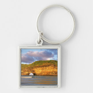 Hole In The Wall On The Wild Coast Keychain