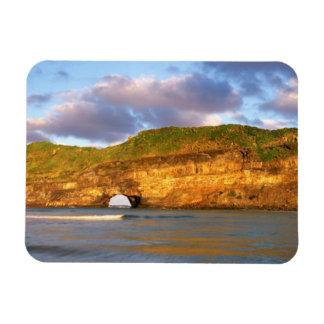 Hole In The Wall On The Wild Coast Rectangular Photo Magnet