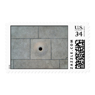 Hole Stone Postage Stamp