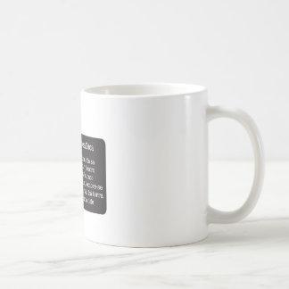 Hole without land coffee mug