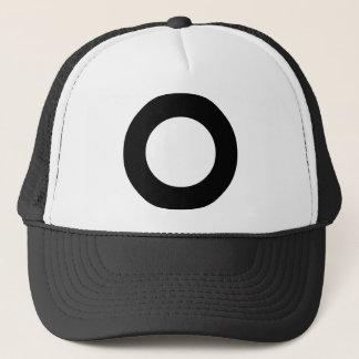 Holed Circle Trucker Hat