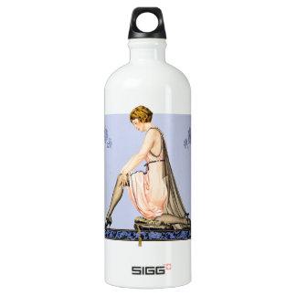 Holeproof Hosiery ad print Water Bottle