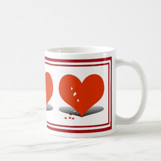 Holes in My Heart Classic White Coffee Mug