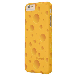 Holes Yellow Cheese Barely There iPhone 6 Plus Case