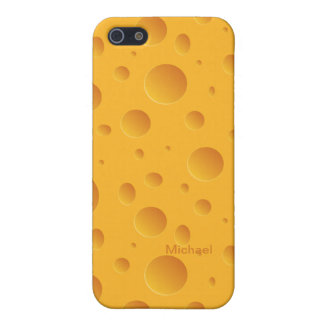Holes Yellow Cheese  iPhone 5  Case