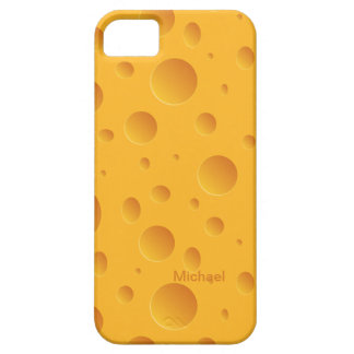 Holes Yellow Cheese iPhone SE/5/5s Case