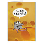 Holey Cheeses! You're how old? Funny Birthday Card