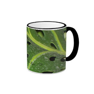 Holey Leaf III Mugs