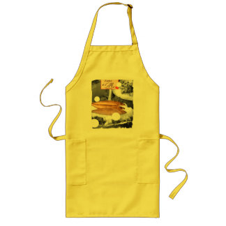 Holey Mackeral Long Apron