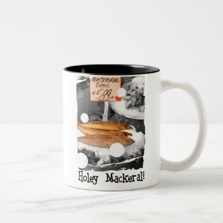 Holey Mackeral!!!! Two-Tone Coffee Mug