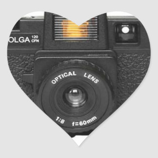 Holga Heart Sticker
