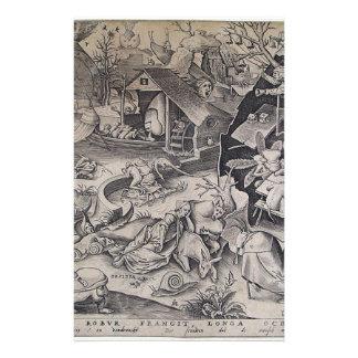 Holgazanería de Pieter Bruegel la anciano Papeleria De Diseño