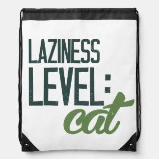 Holgazanería llana: gato mochilas