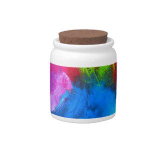 Holi Candy Jars