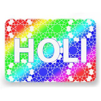 holi feliz festival del color y de la primavera invitaciones personalizada