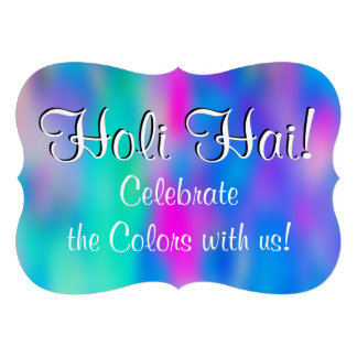 HOLI Festival of Colors 2 + your ideas Card