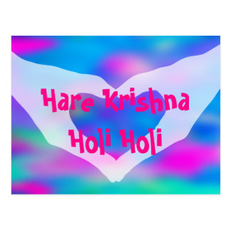 HOLI Festival of Colors 2 + your ideas Postcard