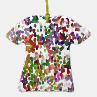 HOLI - Festival of Colors - Elegant MultiColor Dot Ornament