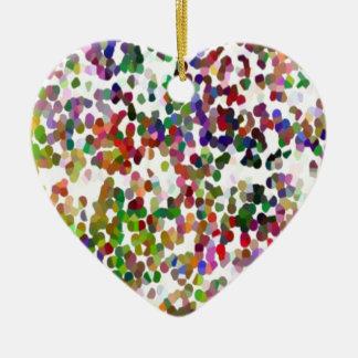 HOLI - Festival of Colors - Elegant MultiColor Dot Ornaments