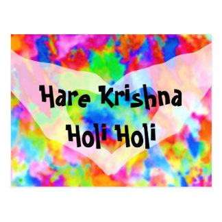 HOLI Festival of Colors + your ideas Postcard