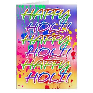 Holi Festival Of Colour - Paint Splashes Greeting Cards