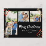 """Holiday 3 Photo Card 