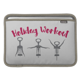 Holiday Alcohol Workout Sleeve For MacBook Air