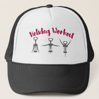 Holiday Alcohol Workout Trucker Hat