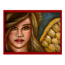 HOLIDAY ANGEL 2 Postcard