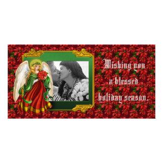 Holiday Angel Photocard Photo Greeting Card