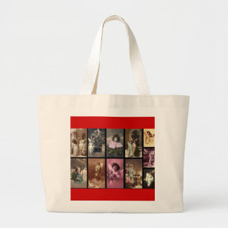 Holiday Angels II Bag - Customizable Canvas Bags