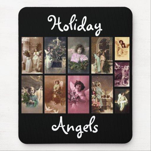 Holiday Angels Mousepad - Customizable Mousepads