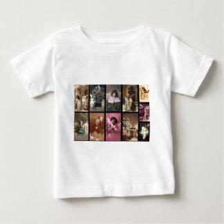 Holiday Angels Plain White T-Shirt I Customizable
