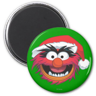 Holiday Animal 2 2 Inch Round Magnet