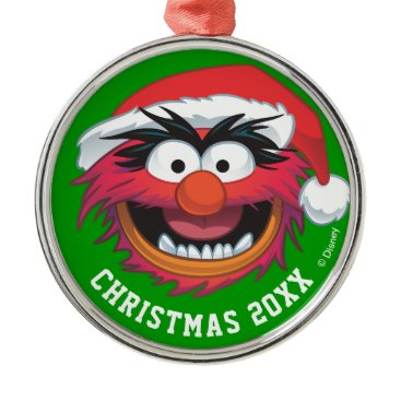 Disney Themed Holiday Animal 2 Metal Ornament