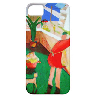 holiday art iPhone 5 case